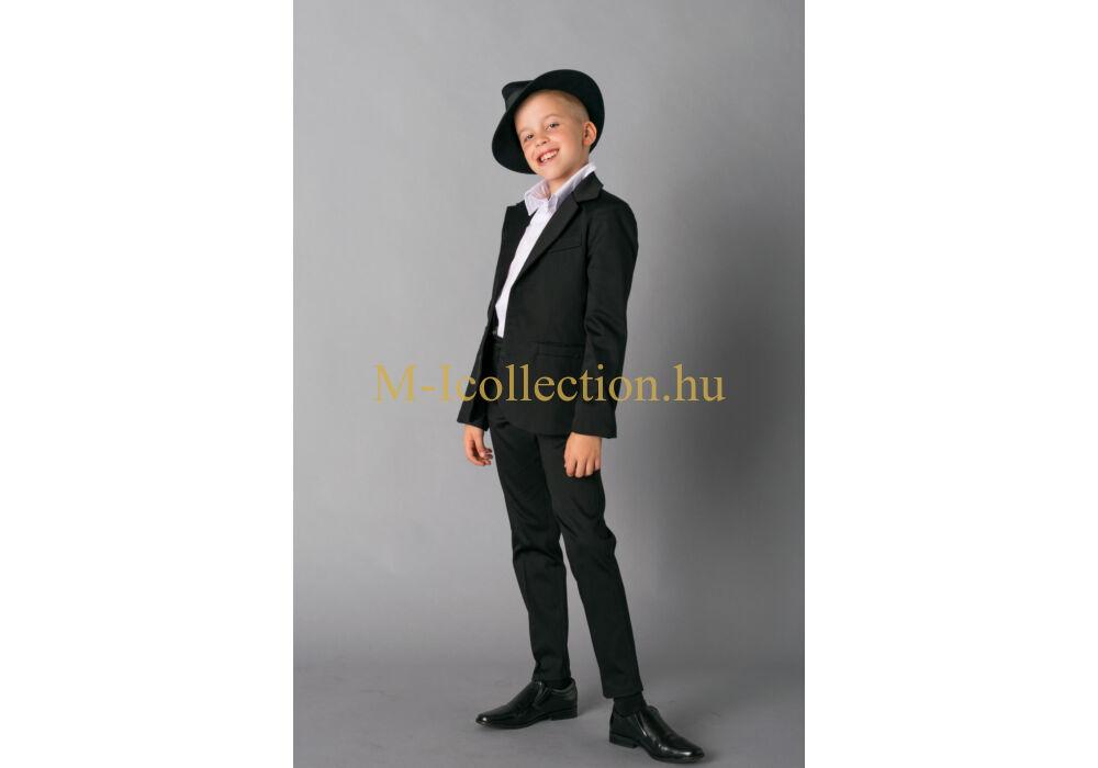 ea5674d73b Fiú fekete 3 részes öltöny-gyerekruha webáruház-M-I Collection.hu