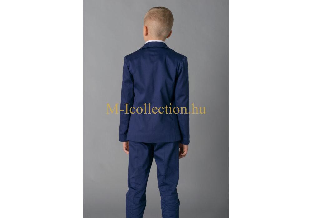 60948f7bf4 Fiú sötétkék 3 részes öltöny-gyerekruha webáruház-M-I Collection.hu