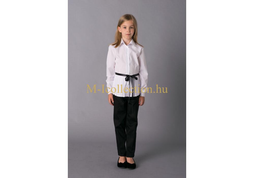 832074db98 lány elöl rakott blúz-gyerekruha webáruház-M-I Collection.hu