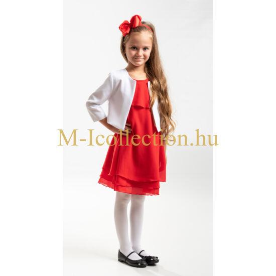 Fehér lányka boleró