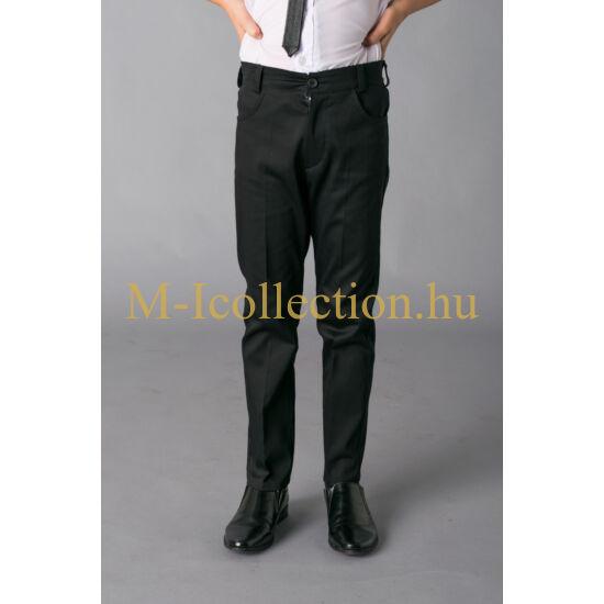fiú fekete alkalmi nadrág