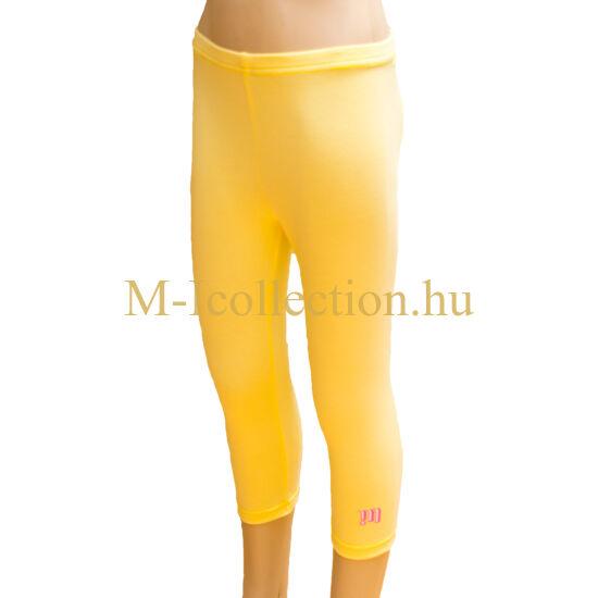 leggings, lány leggings, sárga leggings