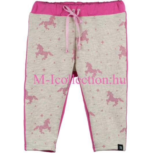 baba nadrág, baba leggings, unikornis, pink